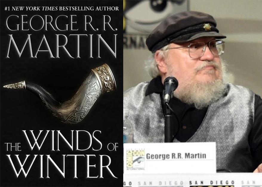 """George R.R. Martin & la copertina di """"The Winds of Winter"""""""