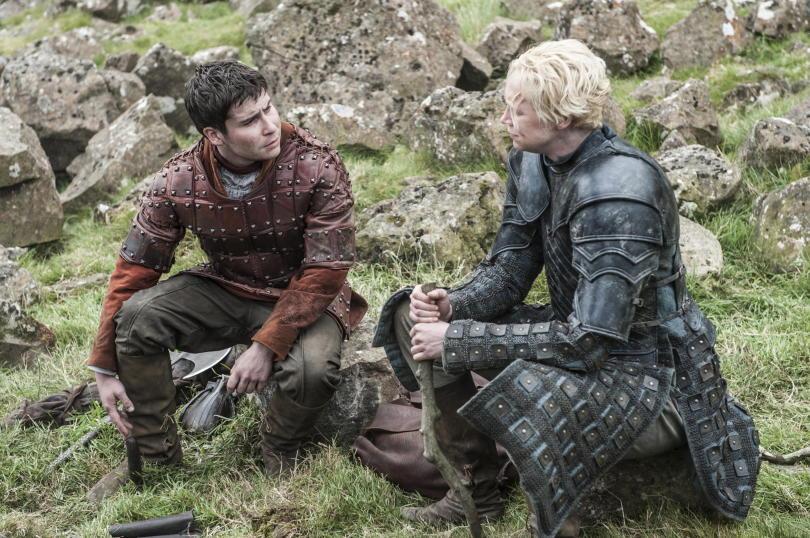 "Brienne e Pod in ""High Sparrow"""