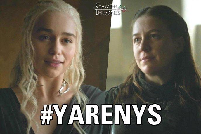daenerys yara game of thrones