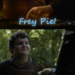"""Arya ha finalmente imparato qualche mansione da """"lady""""... ha imparato a cucinare! Frittella sarà fiero di lei!"""