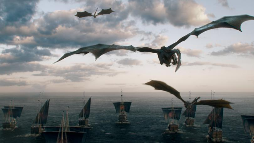 Dragons and Dany's army