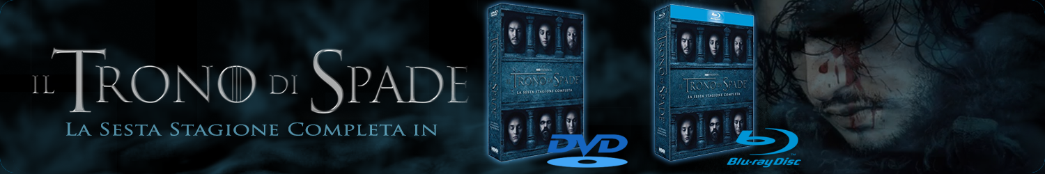 DVD Sesta Stagione di Game of Thrones