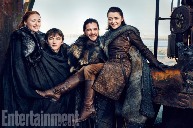 Stark Family Reunion per Entertainment Weekly